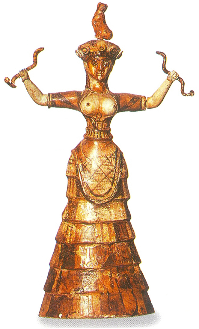 earth goddess with snakes The snake goddess reborn, part 1  chthonic world associated with the snake and the earth  connection between athena and the minoan snake goddess,.